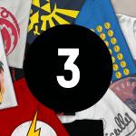 Mystery Geek T-Shirts, 3er-Pack inkl. Versand um 14,99 €