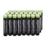 AmazonBasics – AAA-Batterien, 24er-Pack (wiederaufladbar) um 8,39 €