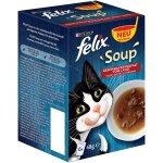48 Packungen Felix Katzennassfutter Soup (48 g) um 5,63 € statt 23,92 €