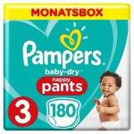 Pampers Baby-Dry Windeln 180 Stk Gr. 3 um 22,52 € statt 35,99 €