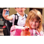 Gratis Reflektorbärchen für den sicheren Schulweg