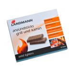 Landmann Anzündsticks (Grill + Kamin) 12 Riegel um 0,50 € statt 7,19 €