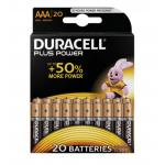 Duracell Plus Power AAA Batterien 20er Pack um 12 € statt 24,19 €