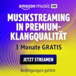 Amazon Music HD – 90 Tage kostenlos testen