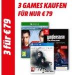 Media Markt Games Aktion – 3 Games um 79 €