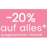 Universal Ladies Shopping Days – 20% Rabatt auf alles außer Technik