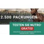 Nutro Hunde- und Katzenfutter GRATIS testen durch Cashback