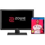 Benq RL2455S Monitor + FIFA 20 [PS4] um 129 € statt 181,76 €