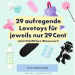 29 Toys für je nur 29 Cent – im Wert von 425 € bei Eis.at