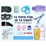 15 Toys für je nur 15 Cent – im Wert von 224 € bei Eis.at