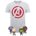 Marvel Vs Capcom Paket (4x Pop! Figuren + T-Shirt) um 18€ statt 65,49€