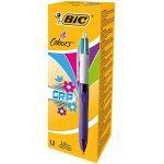 12x BIC 4-Farb-Druckkugelschreiber um 6,55 € statt 16,53 €