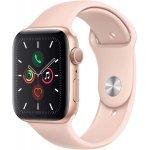 Apple Watch Series 5 (GPS, 44 mm) Gold um 402,55 € – Bestpreis!