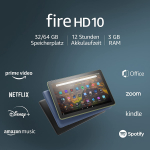 Fire HD 10-Tablet (10″, 32 GB, 7. Gen) ab 74,99 € statt 149,99 €
