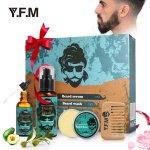 Bartpflege Set – Y.F.M Beard Kit 4 Arten um 5,99 € statt 9,98 €