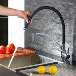 Homelody Küchenarmatur (360° drehbarer Wasserhahn) um 9,45 €