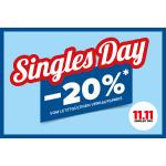 Hervis Singles Day – 20 % Rabatt auf (fast) ALLES