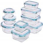 Glas-Frischhaltedosen 9 Stück – Deckel BPA frei um 25,44€ statt 38,99€