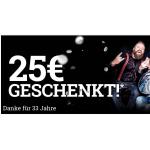 33 Jahre EMP – 25 € Rabatt auf die Bestellung ab 100 €