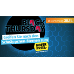 Hofer Black Thursday ab Donnerstag den 28.11.2019