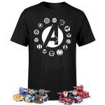 Avengers T-Shirt + 6x Pull Back Cars um 16,99 € statt 82,25 €