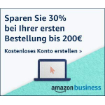Amazon Business Black Friday: 30% Rabatt auf Bestellungen bis 200 €