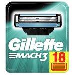 18 Stück Gillette Mach3 Rasierklingen um 19,20 € statt 26,99 €