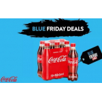 Marktguru Blue Friday Cashback Week – zB. 50 % Rabatt auf Coca Cola