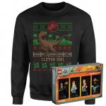 Jurassic Park X-Mas Pulli + LEGO Figuren Set um 21,99 € statt 39,98 €
