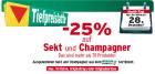nur heute am 28.12. -25% auf Sekt und Champagner @Merkur Markt