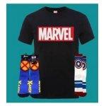 Marvel T-Shirt + 2 Paar Socken inkl. Versand um 11,99 €
