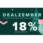 Home24 Dealzember – 18% Rabatt auf Möbel, Lampen, …