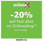 Mömax.at – 20% Rabatt auf fast alles bei Bezahlung mit Amazon Pay!