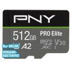 PNY Pro Elite R100/W90 microSDXC 512GB Kit um 60 € statt 82,40 €