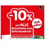 Interspar – 10% Rabatt auf Gutscheine (Amazon, Zalando, Ikea, …)