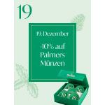 Palmers Onlineshop – 10% Rabatt auf Palmers Münzen