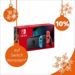 10% Rabatt auf Switch Konsolen – nur heute bei Müller Österreich vor Ort