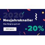 Home24 Neujahrsknaller – 20% Rabatt auf vieles (ab 150 € Bestellwert)