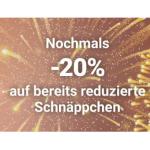 Möbelix Jahreswechselrabatt – 20% Rabatt auf reduzierte Schnäppchen