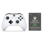 Xbox One S Controller + Game Pass 3 Monate um 48,48 € statt 66,28 €