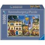 "Ravensburger Puzzle ""Abendspaziergang durch Paris"" um 93€ statt 126€"