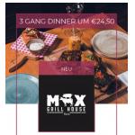 Huth Da Max – 3 Gänge Dinner Menü um 24,50 € statt 47,10 €