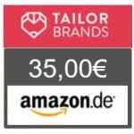 TOP! Tailor Brands – 21 € erhalten & 12 Monate GRATIS Logos gestalten