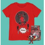 Deadpool Bundle (T-Shirt, Funko Pop! & Untersetzer) um 19,48 €