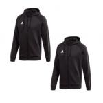 Adidas Core 18 Full Zip Hoody 2er Pack um 45,95 € statt 73,80 €