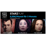 Amazon Channel Starzplay – 0,99 € statt 4,99 € / Monat für 3 Monate!