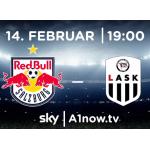 A1 Now – Red Bull Salzburg : LASK gratis streamen (am 14.02.)