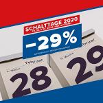 Hervis Filialen – 29% Rabatt auf einen regulären Artikel (28. & 29.02.)