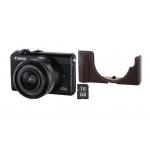 Canon EOS M100 + Objektiv EF-M 15-45mm um 349 € statt 417,05 €