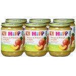 6x HiPP Früchte Banane und Pfirsich in Apfel 190g um 2,70 € statt 7,20 €